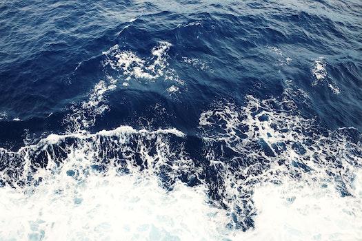 Free stock photo of sea, ocean, waves