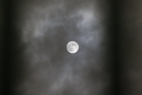 Free stock photo of clouds, full moon, moon, moonlight