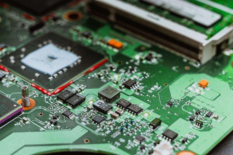 circuit board, close, computer