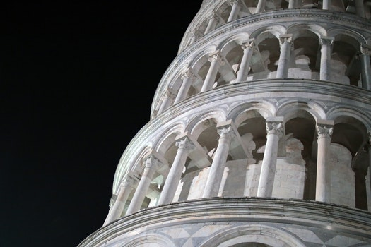 Free stock photo of landmark, italy, leaning tower of pisa, cathedral
