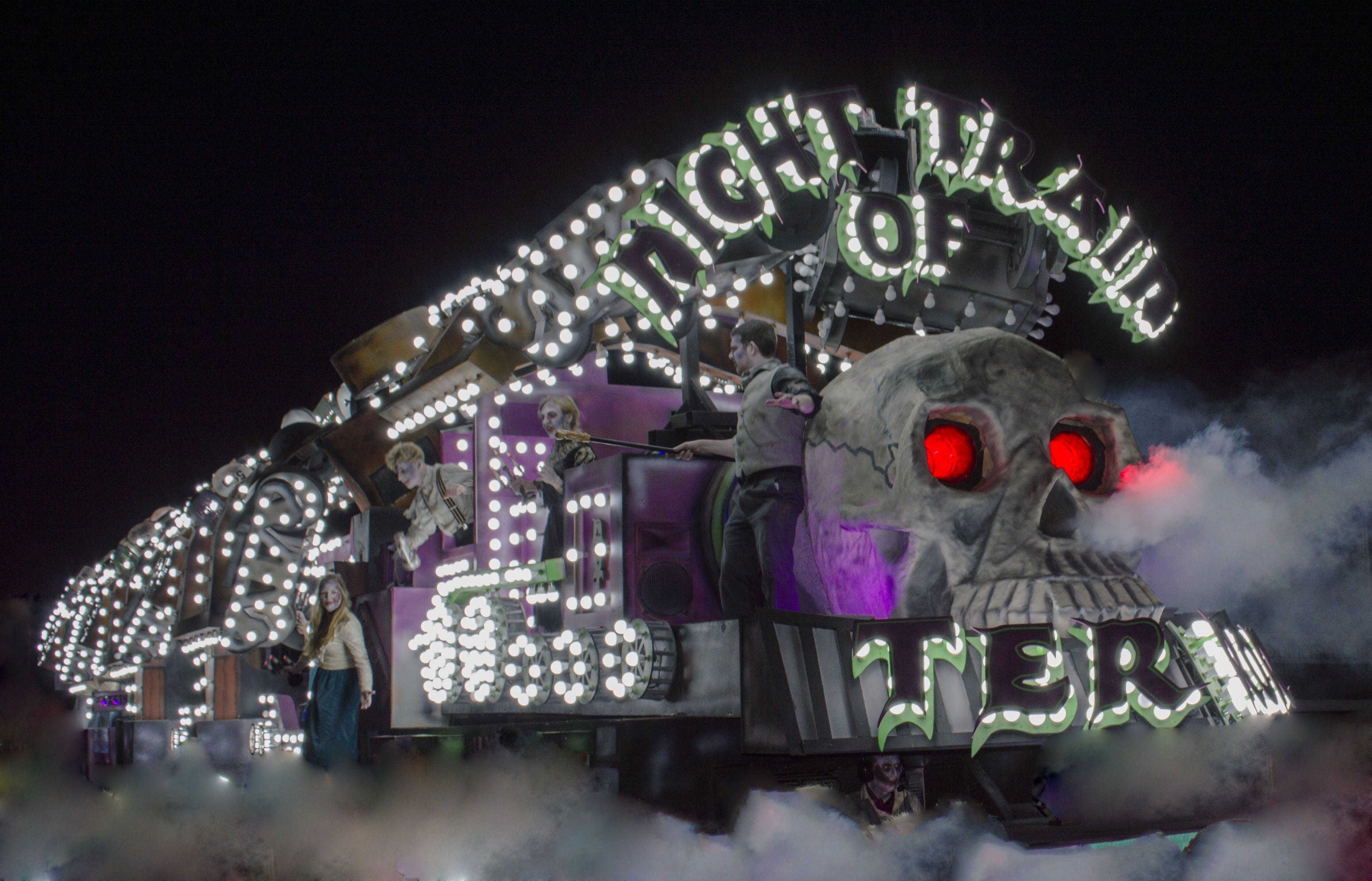 Night of the Train Photo