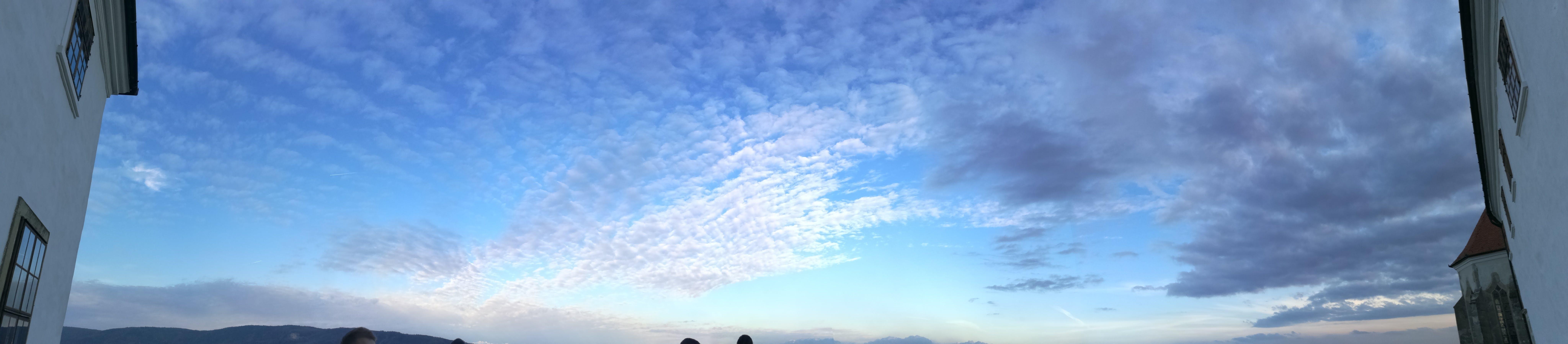 Kostenloses Stock Foto zu burg, himmel, panoramablick, siklos