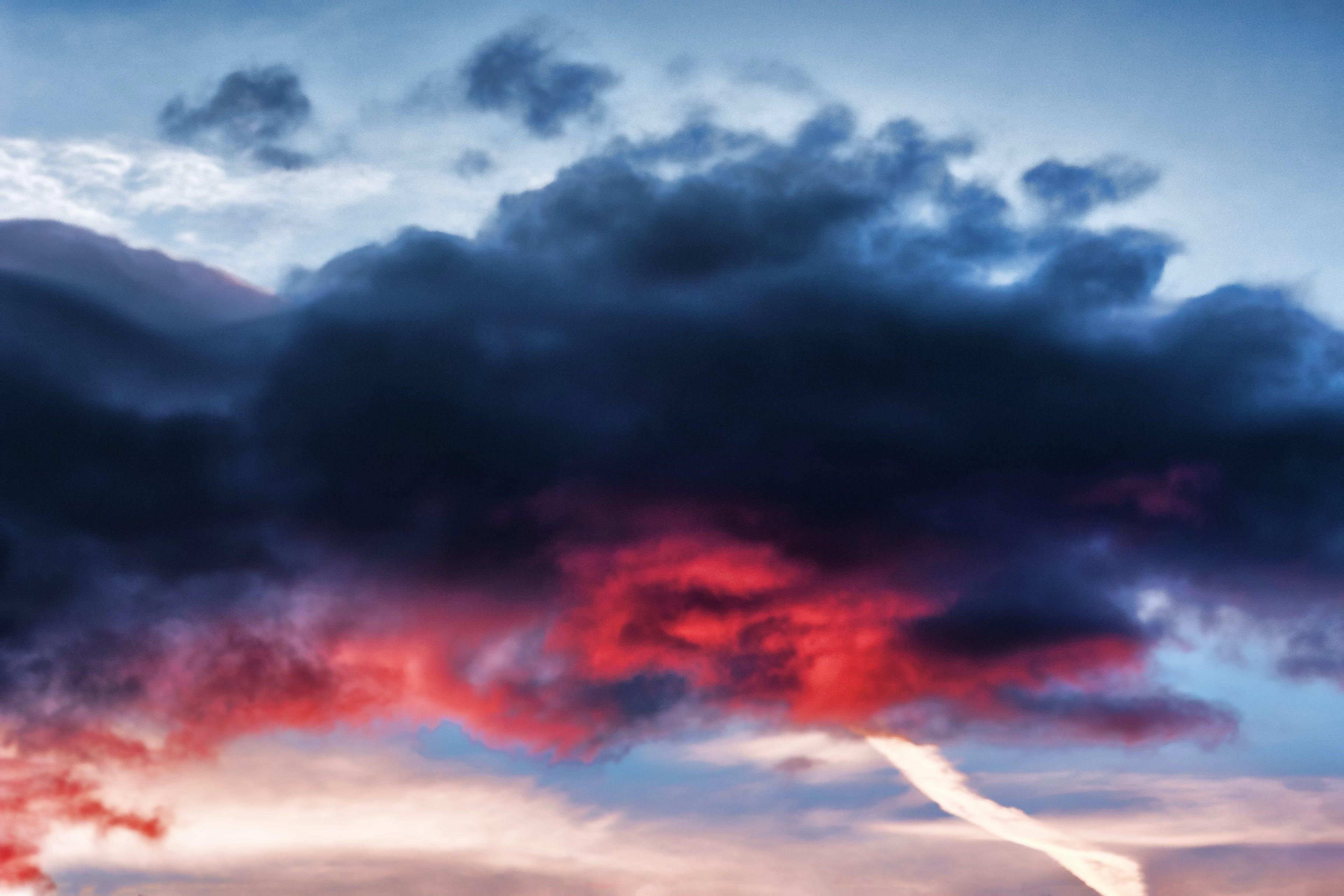 Foto d'estoc gratuïta de cel, clareja, dramàtic, núvols