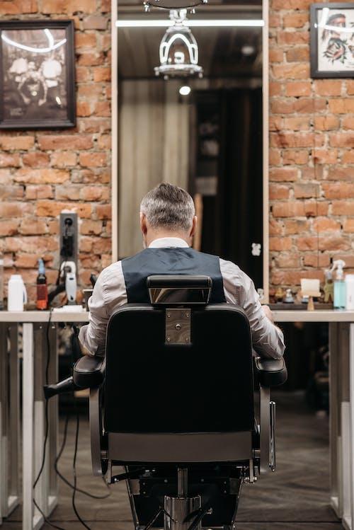 Foto profissional grátis de barbearia, barbeiro, corte de cabelo