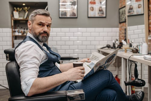 Foto profissional grátis de barba, barbado, barbearia