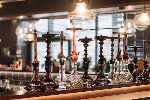 Darmowe zdjęcie z galerii z bar, fajki wodne, lada barowa
