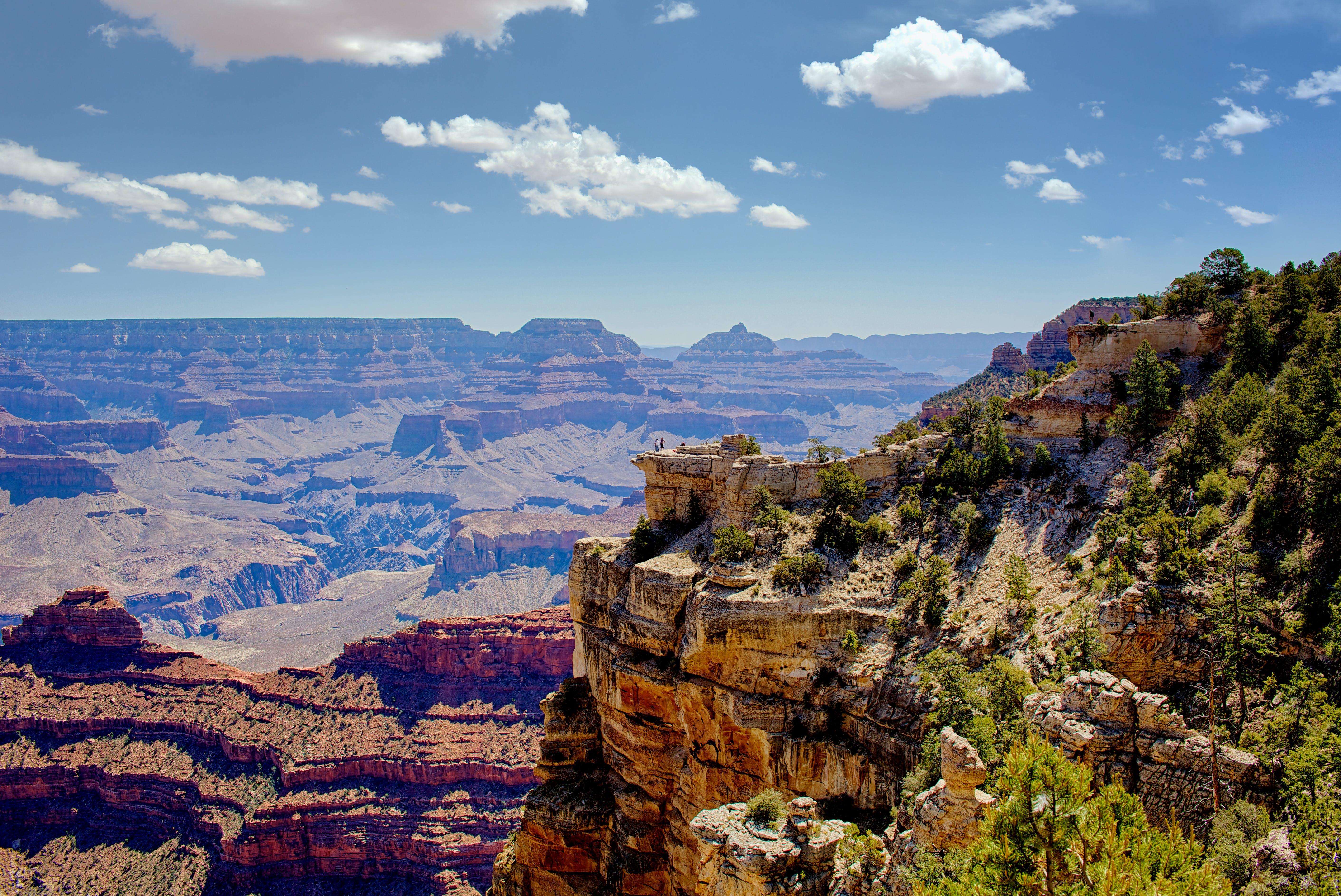 Free stock photo of clouds, daylight, geology, grand canyon