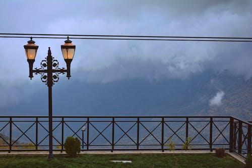 Foto profissional grátis de aço, alto, azul, cabo