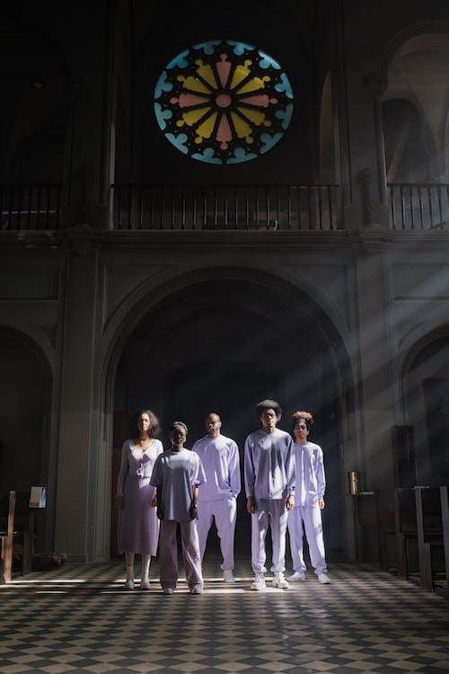 Choir Inside the Church Building