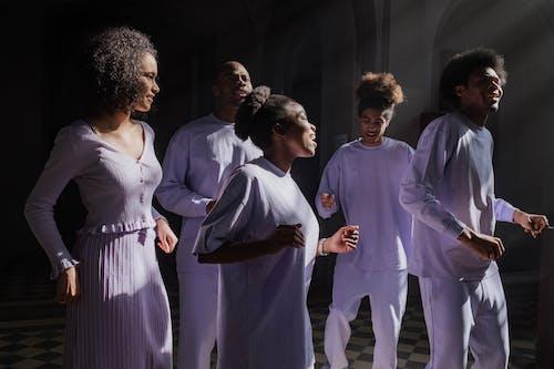 Choir Singing in a Church