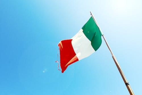 Základová fotografie zdarma na téma Itálie, řím, vlajkový stožár, vlastenecký