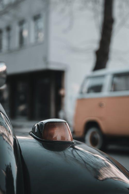 Δωρεάν στοκ φωτογραφιών με chrome, vintage, άκρη του δρόμου