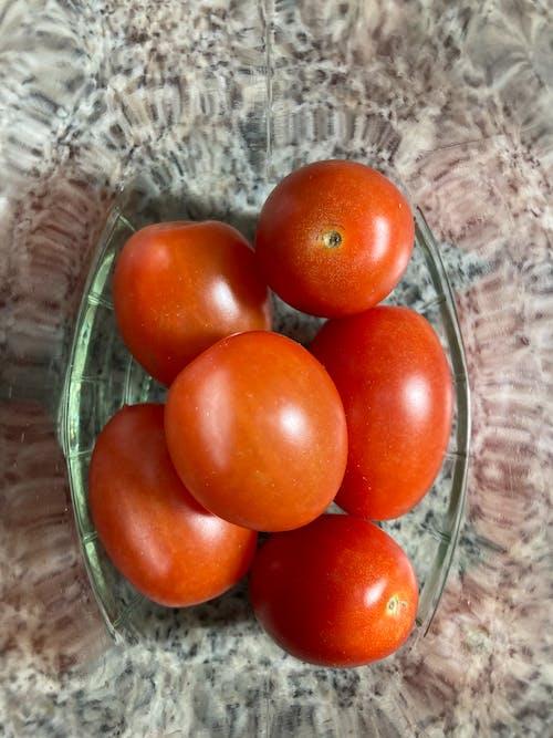 Close Up Shot of Tomatoes