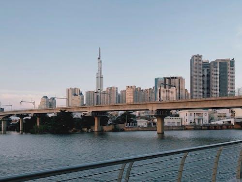 Gratis stockfoto met architect, blok bouwen, brug
