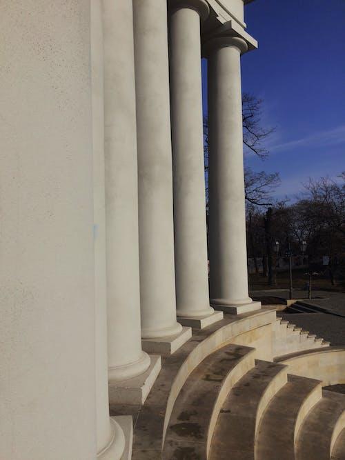 Free stock photo of collonade, column, columns