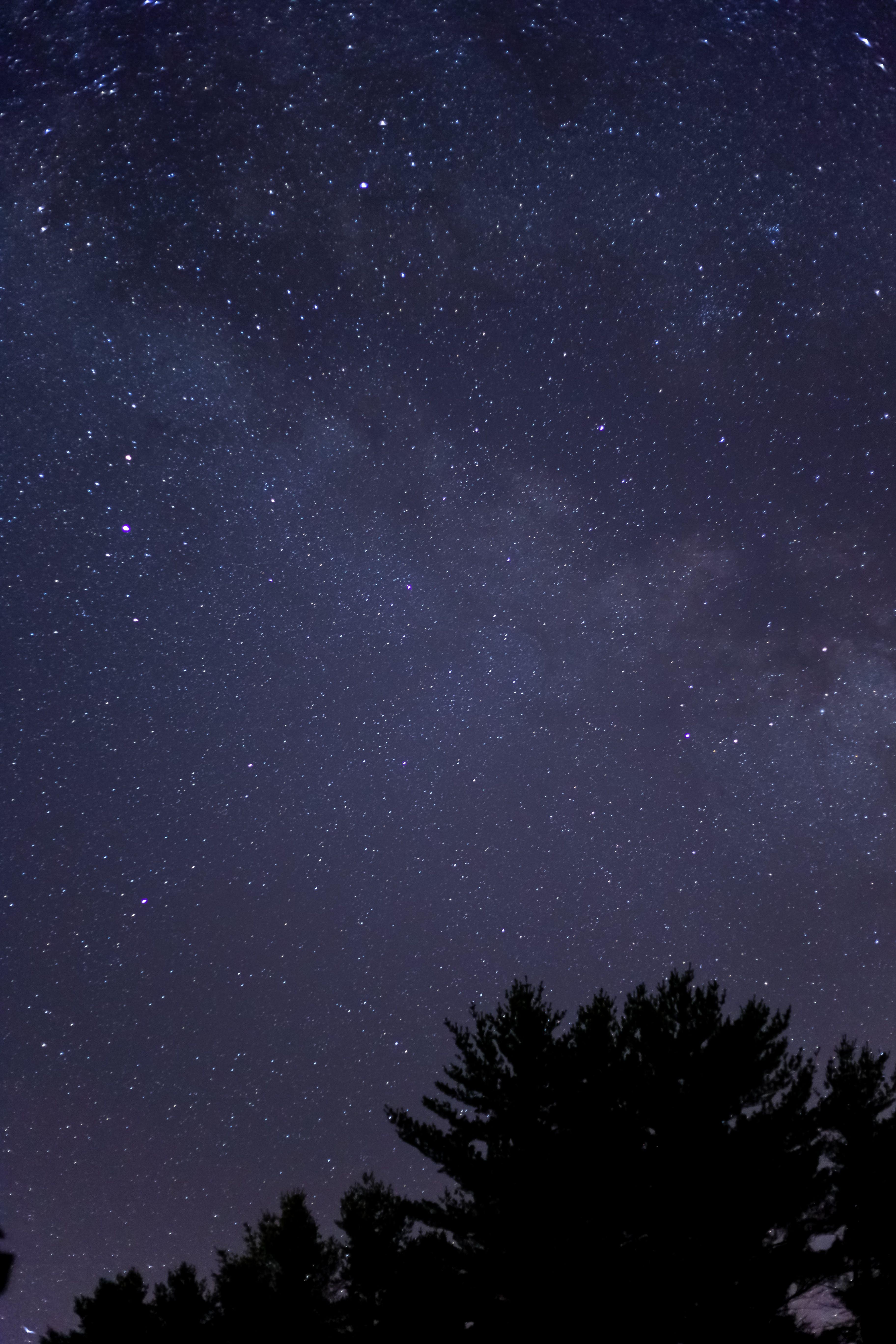 galaxy, night, sky