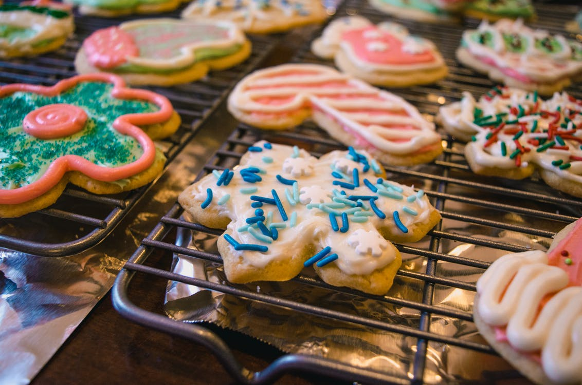 Variety of Assorted Designed Cookies