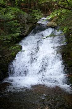 Nature wallpaper of nature, brook, stream, waterfall
