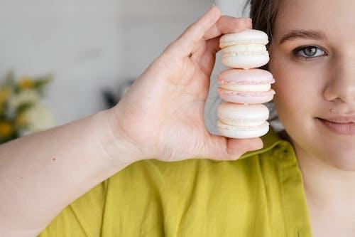abur cubur, acıbadem kurabiyesi, arka plan bulanık içeren Ücretsiz stok fotoğraf