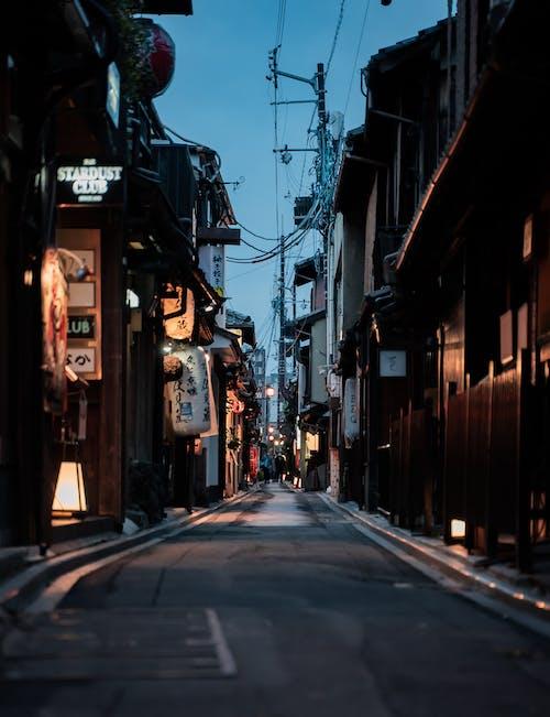 간판, 거리, 골목의 무료 스톡 사진