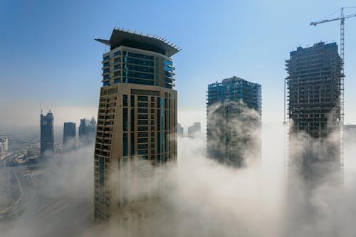 Fotos de stock gratuitas de alto, arquitectura, calle, cielo
