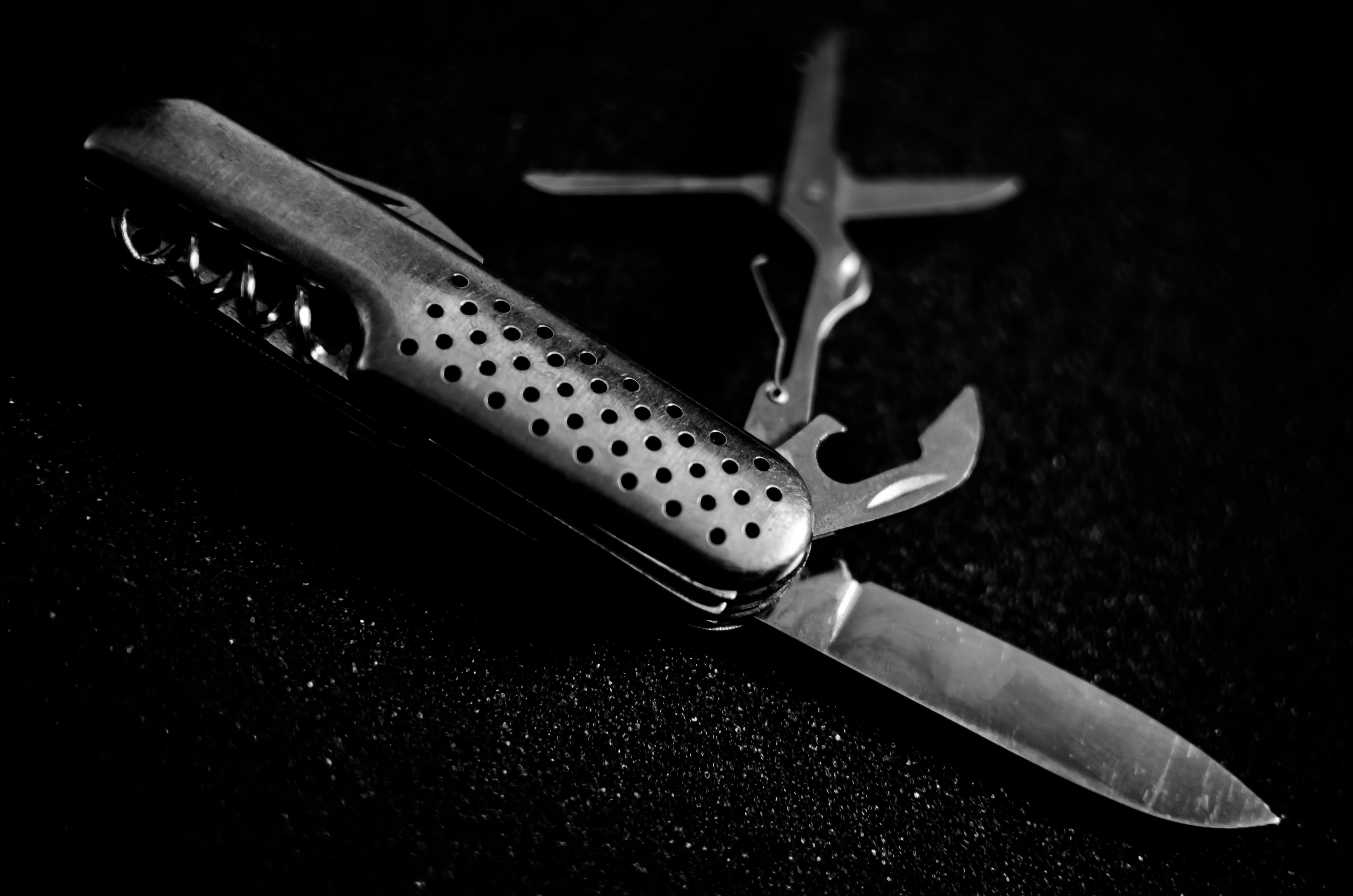 Free stock photo of still, knife, life, swiss