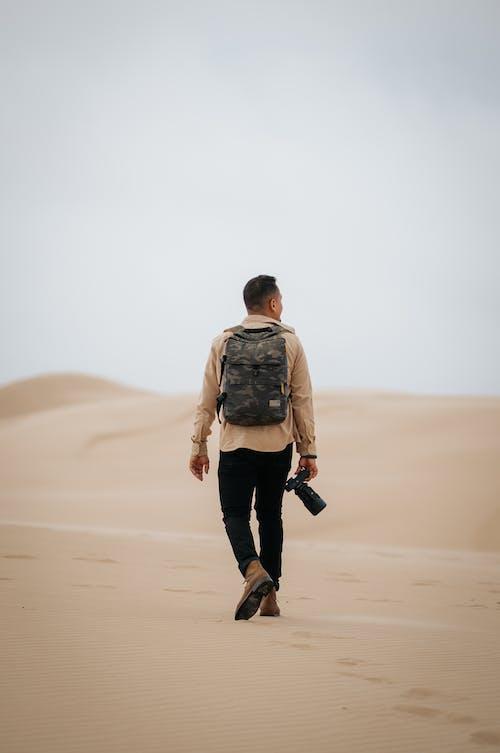 Free stock photo of adventure, alone, beach