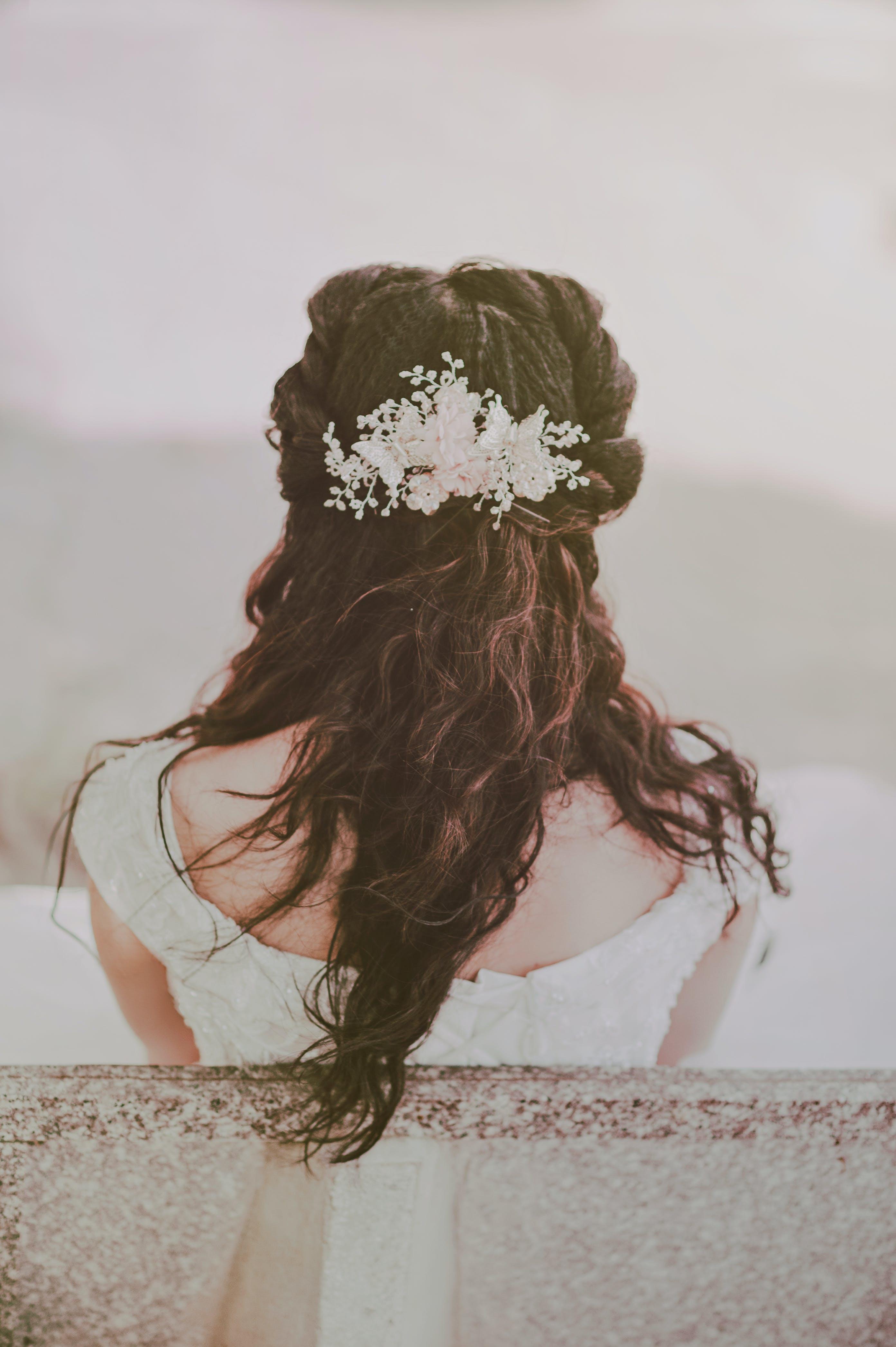 결혼, 결혼하는, 눈, 뒷모습의 무료 스톡 사진