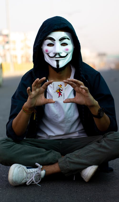 Free stock photo of adult, anonymous, anonymous mask