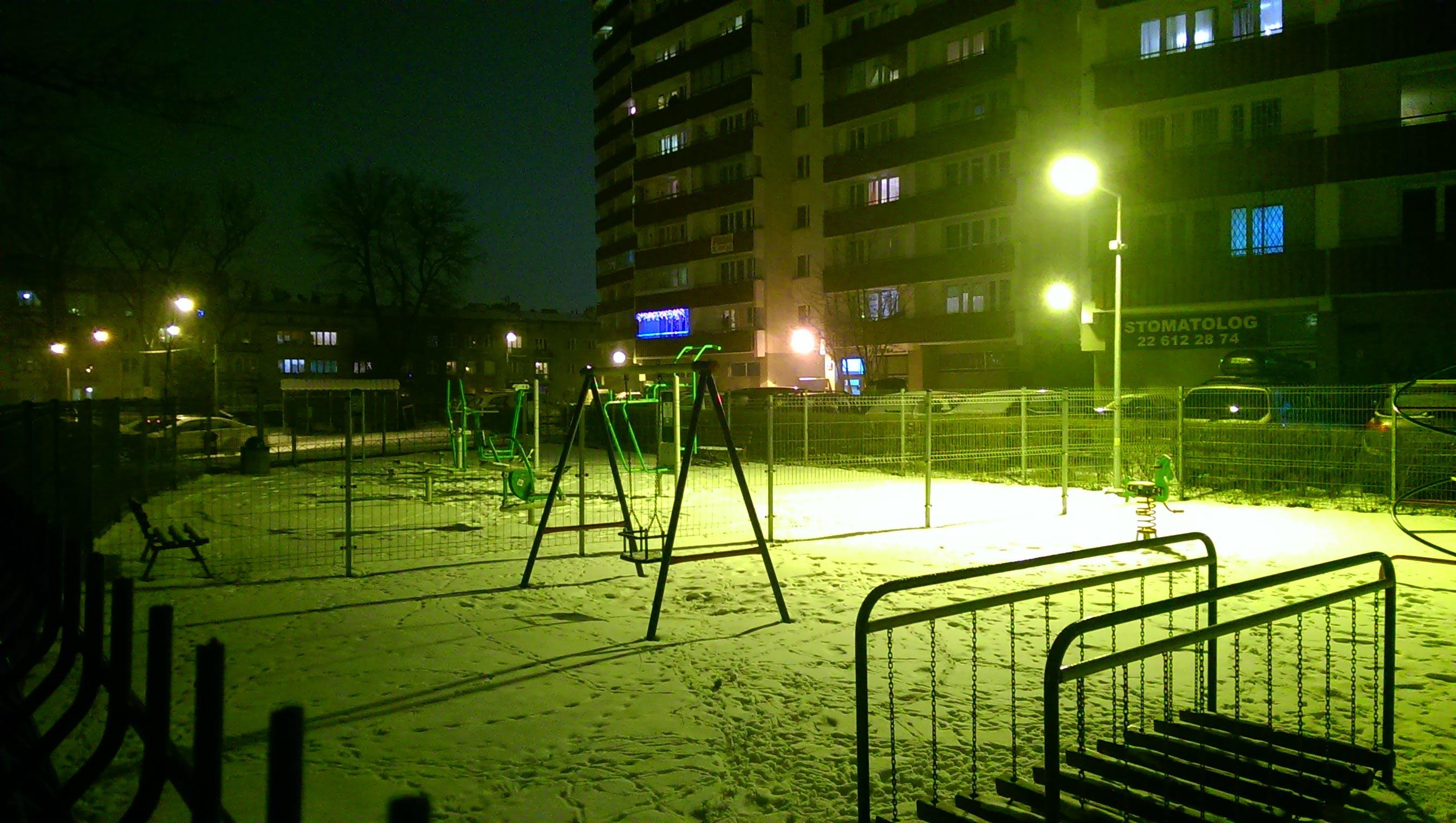 Free stock photo of playground, winter