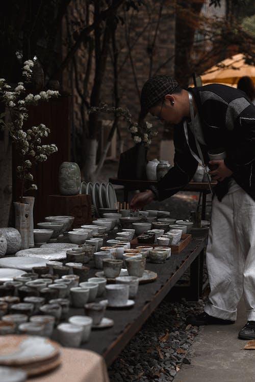 Foto profissional grátis de adulto, agrupar, cemitério