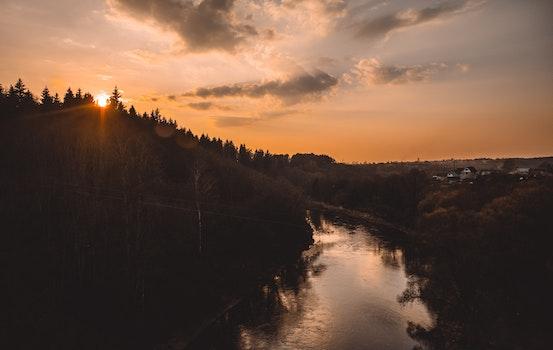 Free stock photo of dawn, landscape, sky, sunset