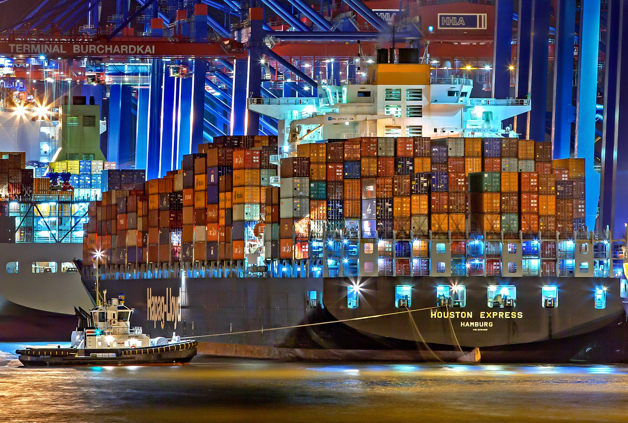 독일, 무역, 바다