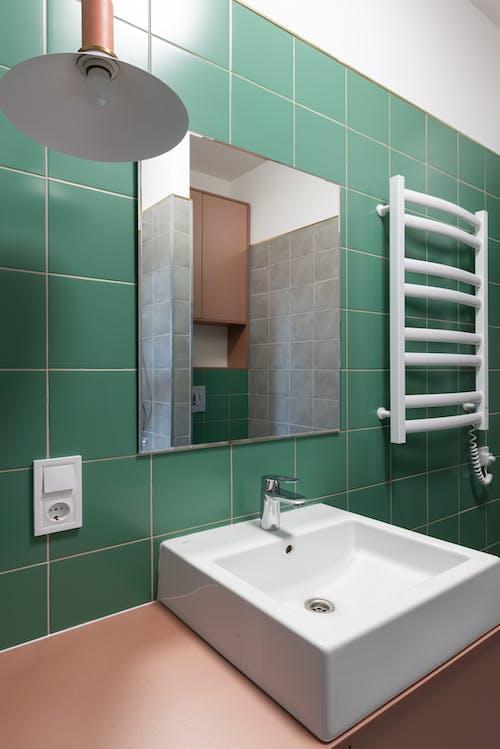 Gratis stockfoto met accommodatie, appartement, badkamer