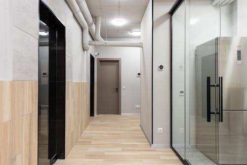 Interior of hall of modern office