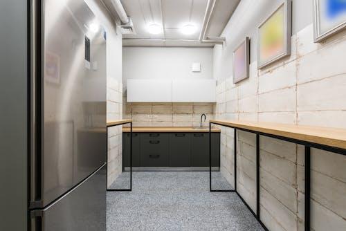 Interior of modern kitchen in office