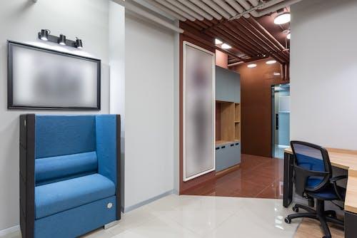 Základová fotografie zdarma na téma design interiéru, firma, kancelář