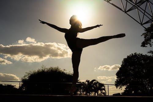คลังภาพถ่ายฟรี ของ bailarina, balletpost, dancephotography