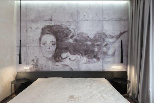 Gratis stockfoto met artwork, bed, binnen