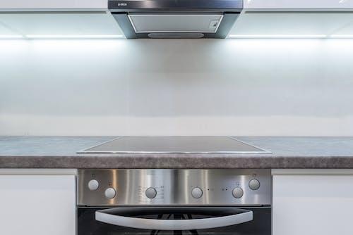 Fotos de stock gratuitas de accesorios de cocina, acero, agotar