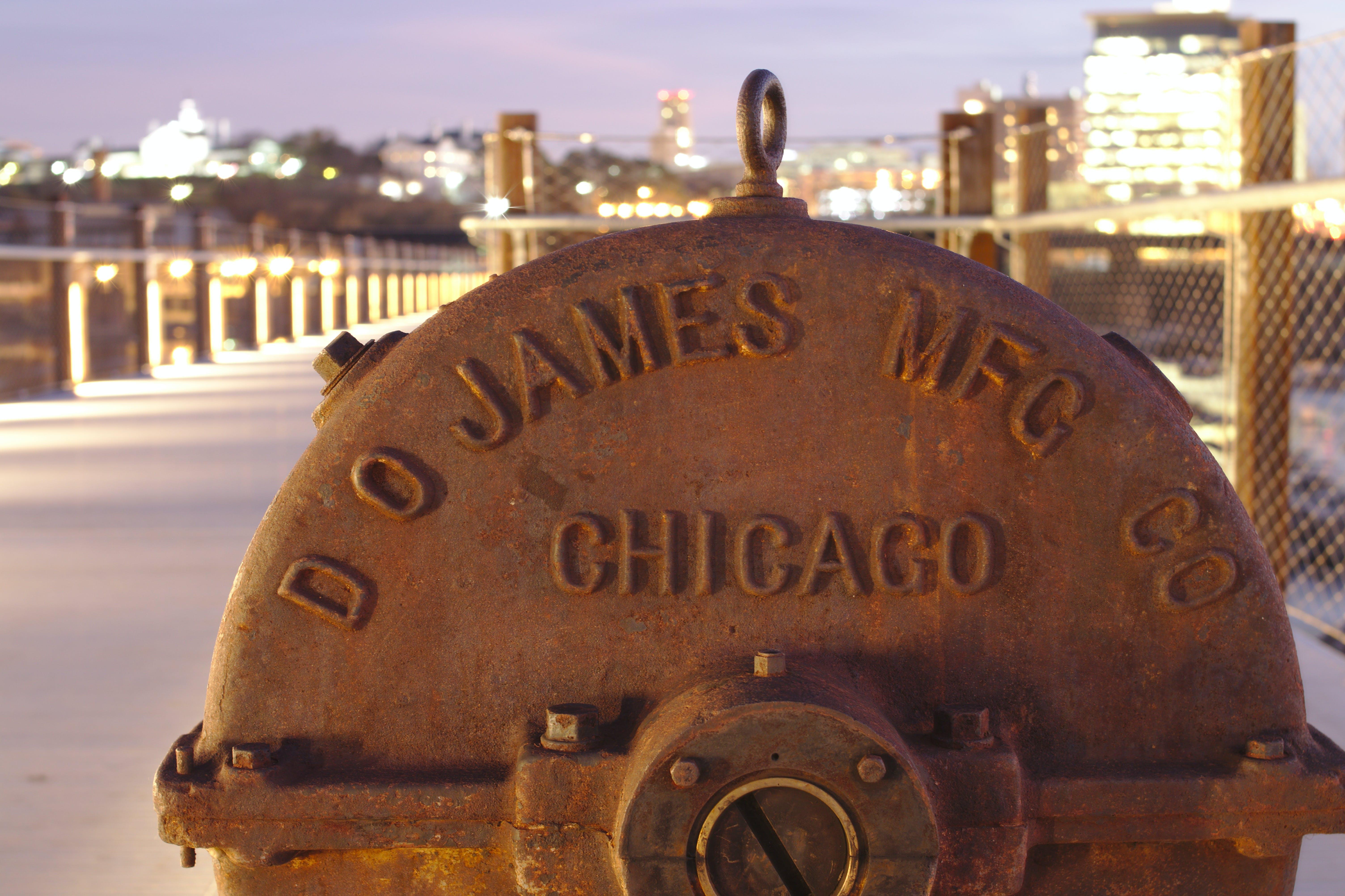 Foto d'estoc gratuïta de bomba de ciutat, llums de la ciutat, passeig del pont, riu james