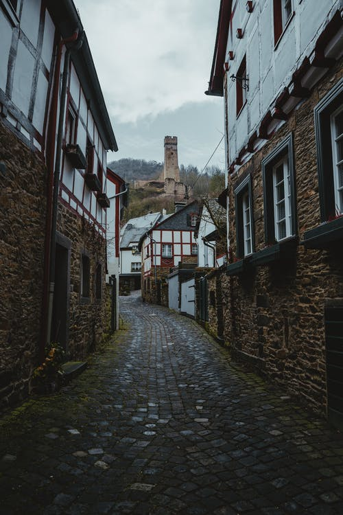 Free stock photo of alley, architecture, building