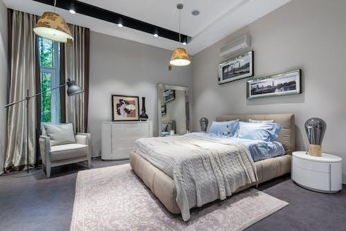 Fotos de stock gratuitas de acogedor, alfombra, almohada