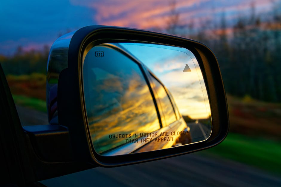 Selective Focus Photography of Vehicle Side Mirror · Free
