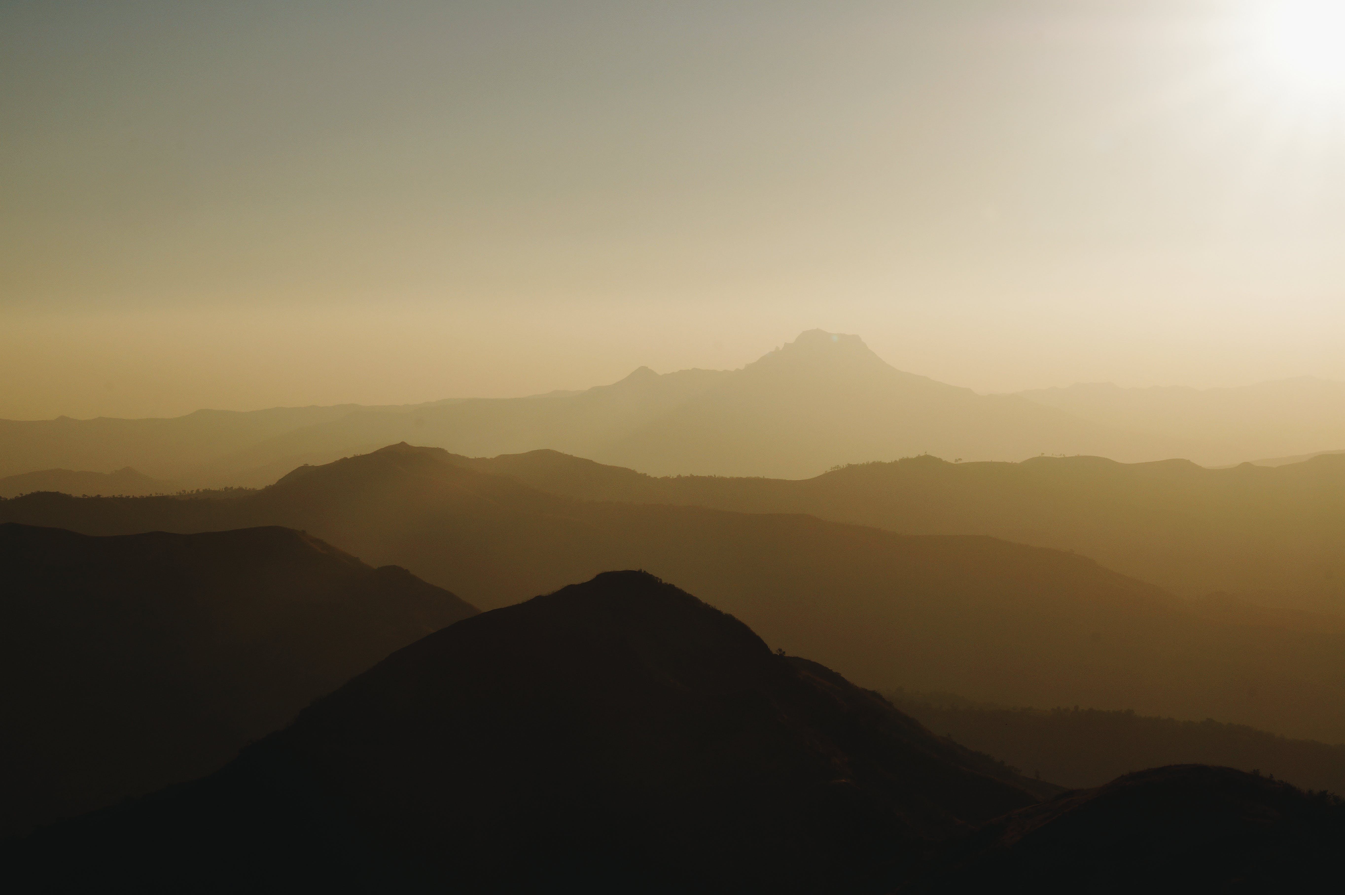 Aerial View Photography Of Mountain