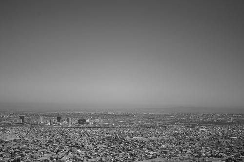 An Aerial Shot of Ciudad Juarez, Mexico