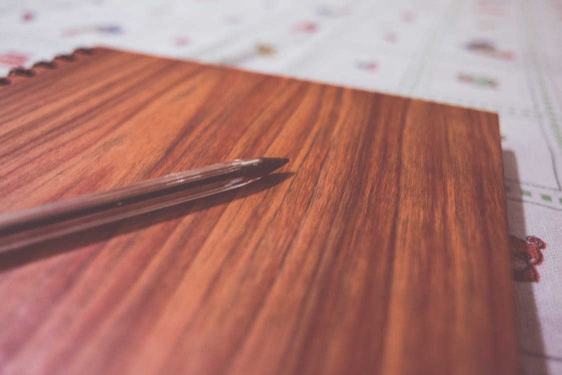 Free stock photo of close-up, depth of field, notebook