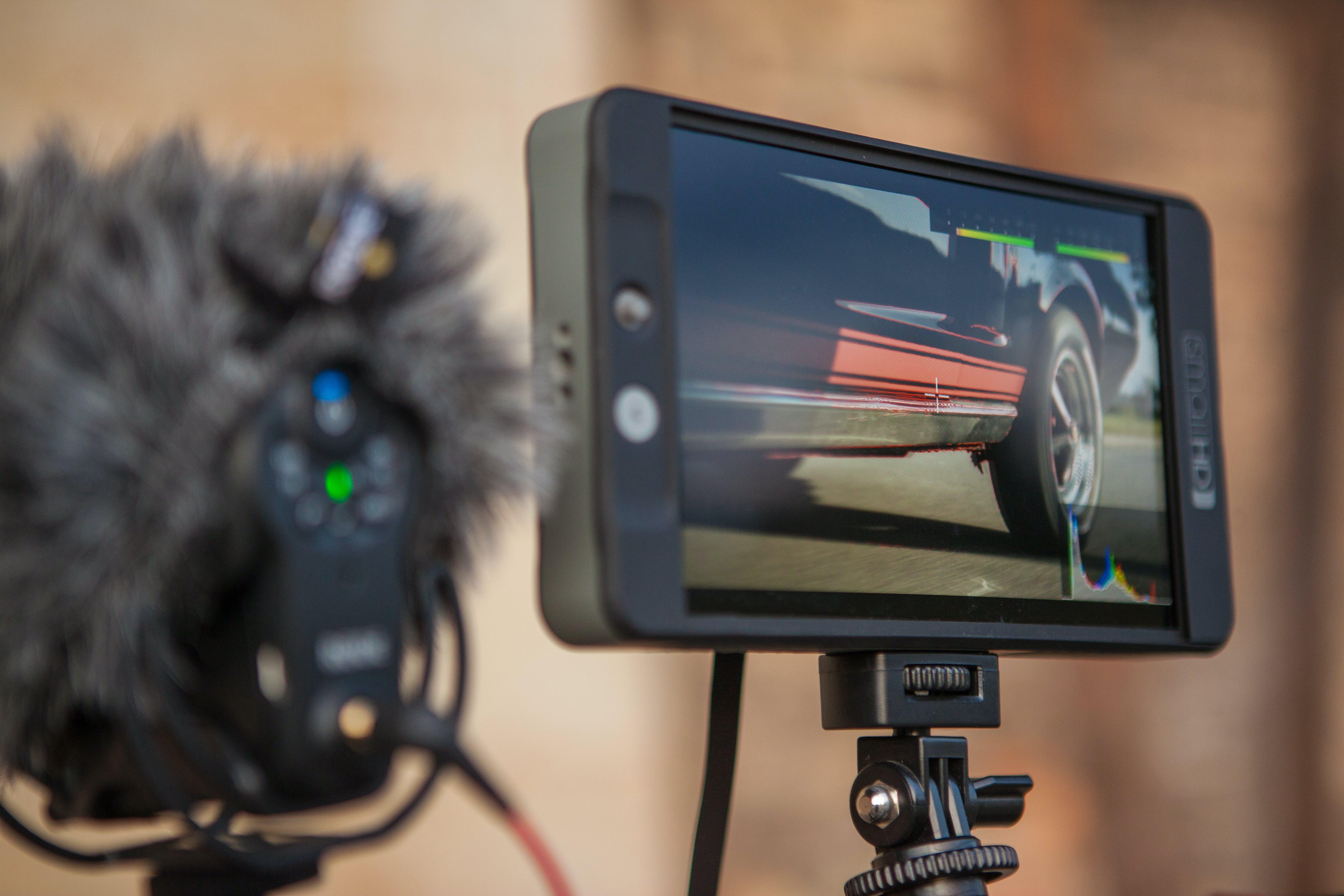 Black Android Smartphone On Selfie Stick