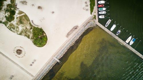 Baltık Denizi, deniz, deniz araçları, drone içeren Ücretsiz stok fotoğraf