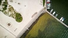 Aerial Shot Of Jetty